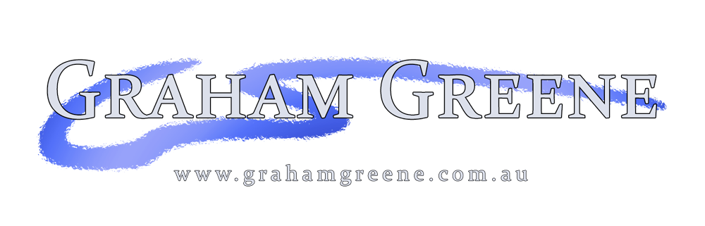 Go to the official Graham Greene website at www.grahamgreene.com.au